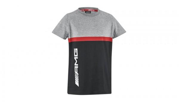 Mercedes-AMG T-Shirt Jungen schwarz/grau/rot