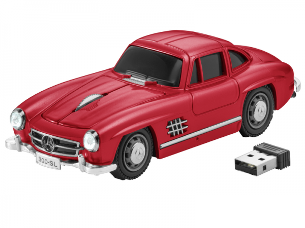 Mercedes-Benz Computermaus 300 SL rot
