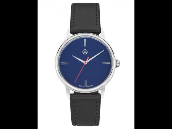 Mercedes-Benz Armbanduhr Herren Basic brillantblau