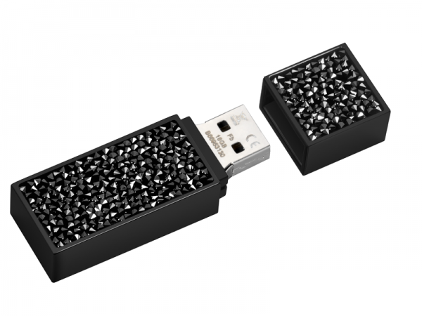 USB-Stick, 16GB Black Edition by Swarovski®