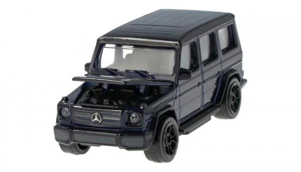 Mercedes-Benz Spielzeugauto G-Klasse AMG Line mysticblau 1:64