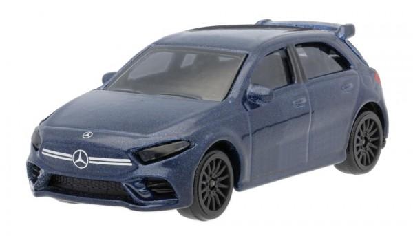 Mercedes-Benz Spielzeugauto A 35, 4MATIC+ denimblau 1:64