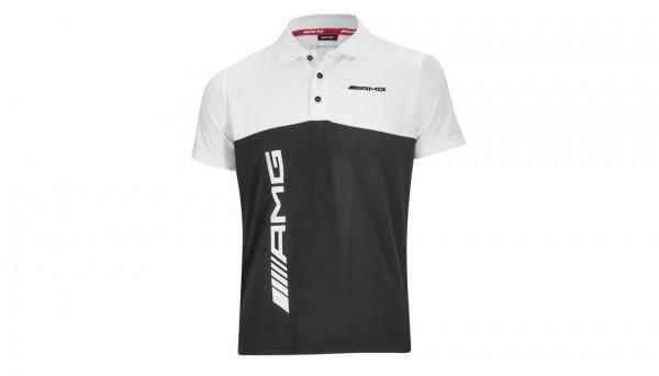 Mercedes-AMG Poloshirt Herren schwarz/weiß