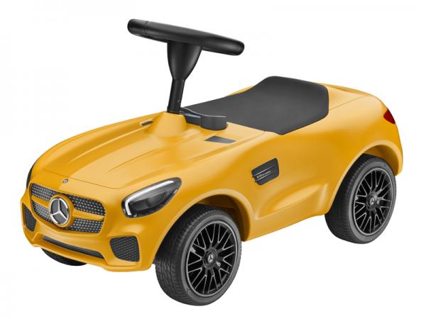 Mercedes-AMG GT BIG Bobbycar gelb