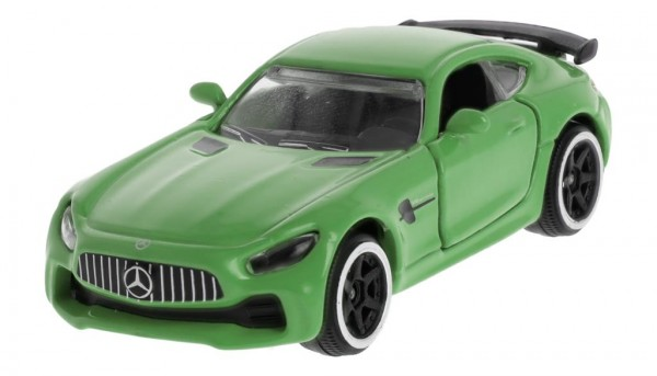 Mercedes-Benz Spielzeugauto GT R C190 green hell grün 1:64
