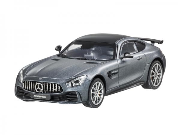 Mercedes-AMG GT R Coupé handmontiert selenitgrau 1:43