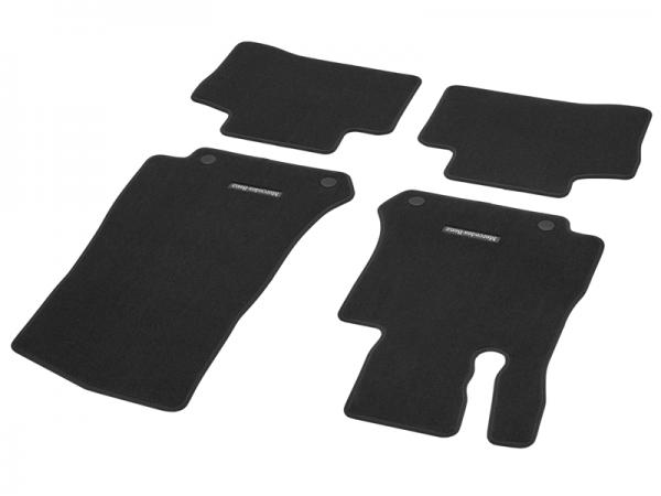 Mercedes-Benz Fußmatten Velours GLC W253 X253 4-tlg. schwarz A25368028029J74