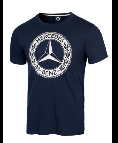 Mercedes-Benz Classic T-Shirt Herren navy blau