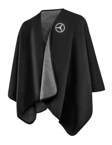 Mercedes-Benz Poncho Cape by FRAAS schwarz/anthrazit B66953627