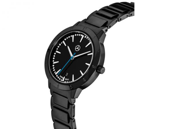 Mercedes-Benz Armbanduhr Damen Black Edition