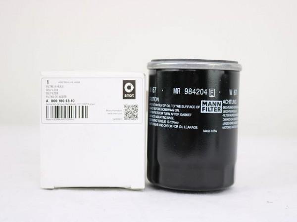 smart forfour W454 Ölfilter Filter Öl Benziner A0001802810