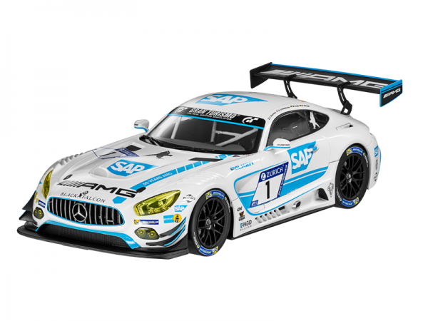 Mercedes-AMG GT3 Team Black Falcon 24h Metall 1:18