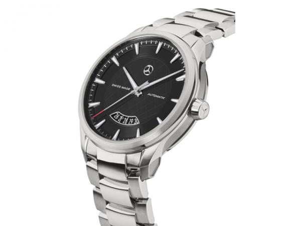 Mercedes-Benz Armbanduhr Herren Automatik schwarz