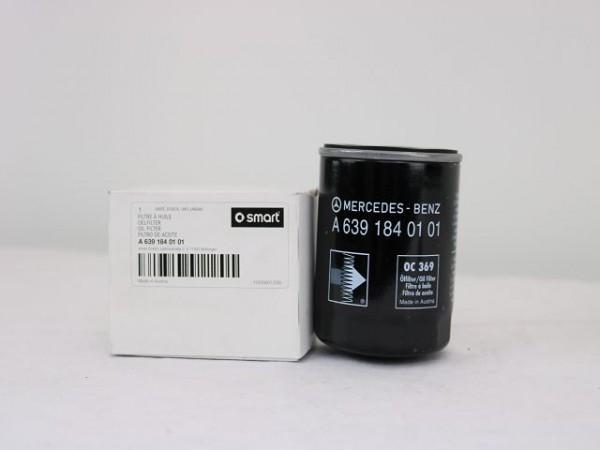 smart W451 W453 etc. Ölfilter Filter OM 639 NEU 6391840101