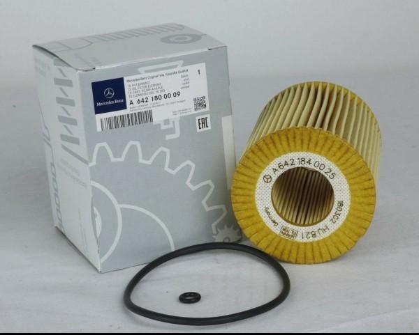 Mercedes-Benz Ölfilter mit Dichtung für CDI Motor OM 642 A6421800009