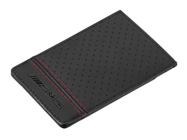 Mercedes-AMG Kreditkartenetui schwarz Carbonleder B66954541